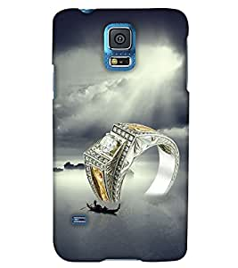 Print Haat Back Cover for Samsung Galaxy S5 (Multi-Color)