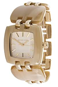 Micheal Kors Damen-Armbanduhr XS Analog Quarz Resin MK4256