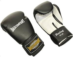 """Pro Leder Boxhandschuhe """"Klassik"""" schwarz / weiß - Klassische Boxhandschuhe mit Belüftungssystem (Airy-System), 10 Unzen (OZ)"""