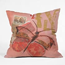 DENY Designs Elizabeth St Hilaire Nelson Fly 2 Throw Pillow
