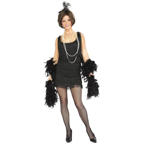 Chicago Flapper Costume - Small - Dress Size 6-10
