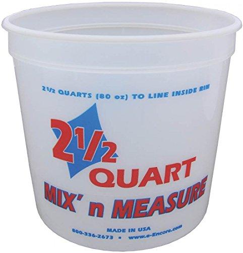 Encore Plastics Mix-N-Measure Container 2.5 Quart 61086