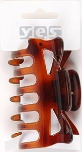 Accessoires cheveux clip glisser Havane