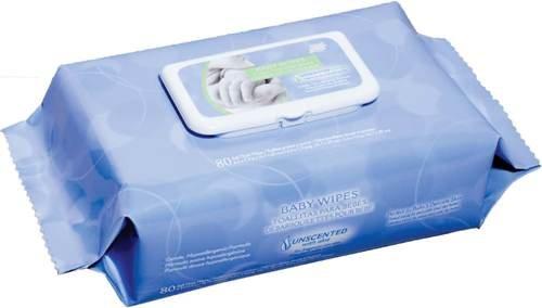 Imagen de Bebé N Clean Nice 'Toallitas Soft-Pack con Aloe - sin olor, hipoalergénicos, Pack/80 Wipes