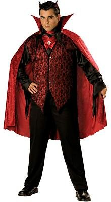 Sinister Devil Men's Costume Adult Halloween