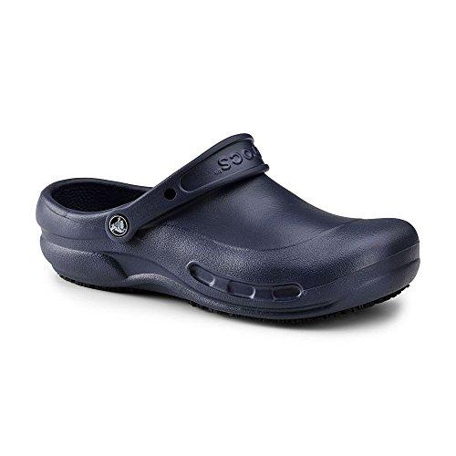 Crocs SureGrip Unisex - Adult Bistro Navy Slip Resistant Work Clogs 9M (Crocs Chef Women compare prices)