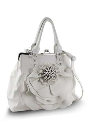 Flower Handbag (White)