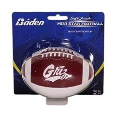 Buy Baden Sports University of Montana Griz Soft-Touch 4-Inch Stuffed Football by Baden Sports