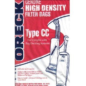 XL Uprights Type CC Oreck Vacuum Cleaner Replacement Bag (8 Pack)