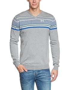 Under Armour Mens UA V-Neck Stripe Sweater by Under Armour