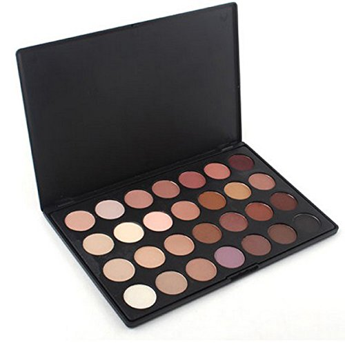 Visi® Professional Makeup Cosmetics 28 Neutral Warm Matte Color Eyeshadow Eye Shadow Palette Pro Make up Cosmetics Set Kit by SQdeal