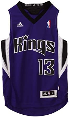 NBA Sacramento Kings Tyreke Evans Swingman Road Jersey - R28E2Hh3 Youth by adidas