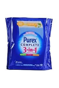 Amazon Com Purex 174 Complete 3 In 1 Laundry Refill 24