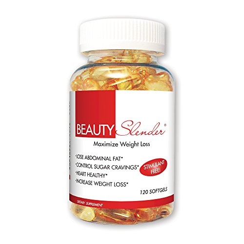 BeautyFit BeautySlender, Stimulant-Free Maximum Weight-Loss Formula For Women, 120 Softgels