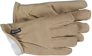 Boss Gloves 4191L Large Thinsulate Lined Pigskin Driver Gloves