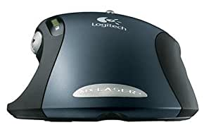 Logitech MX 1000 Laser Cordless Mouse - Mouse - laser - 8 button(s) - wireless - RF - USB / PS/2 wireless receiver