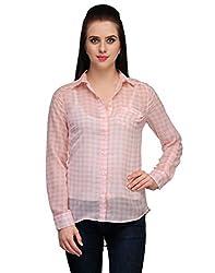 Kiosha Full Sleeve Checkered Shirts for Women