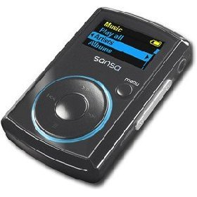 SanDisk 2GB Sansa Clip Black MP3 Player (SDMX11R-002GK)