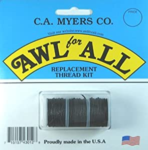 Awl for All - Black Replacement Thread - 3 Pack (1R)