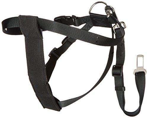 Cruising Companion Nylon Dog Car Harness Large Black