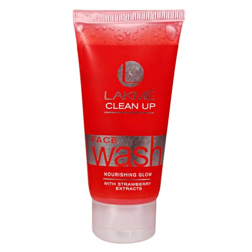 Lakme Fruit Blast Clean Up Strawberry Face Wash, 100g