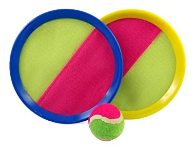 Velcro Toss and Catch Sports Game Set for Kids with Ball & Grip Mitts from Beise