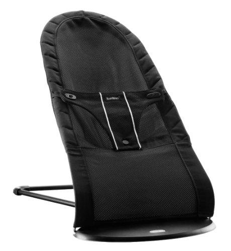 babybjorn 009002 transat balance air noir noir mesh transat b b. Black Bedroom Furniture Sets. Home Design Ideas
