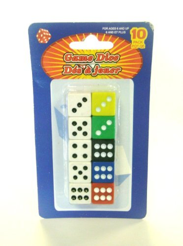 Game Dice 10 Pack - 1