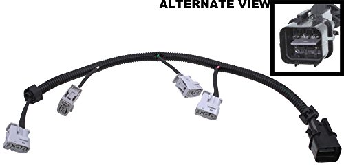 APDTY 112845 Ignition Coil Pigtail Connector Complete Wiring Harness Assembly Fits 2006-2011 Hyundai Accent 1.6L 2006-2011 Kia Rio 1.6L 2006-2011 Kia Rio5 (Replaces 27350-26620) (2011 Hyundai Accent Ignition Coil compare prices)