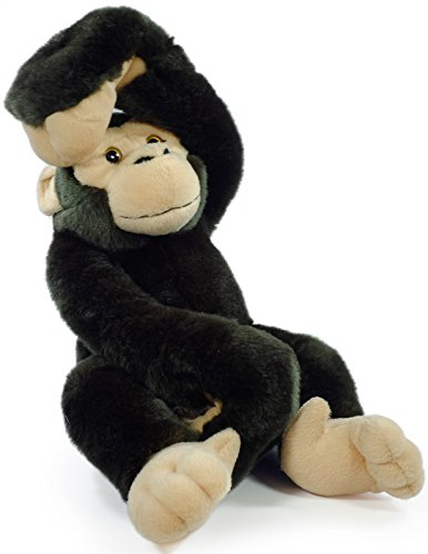 Chance the Chimpanzee | 16 Inch Large Hanging Monkey Stuffed Animal Plush Ape | By Tiger Tale Toys