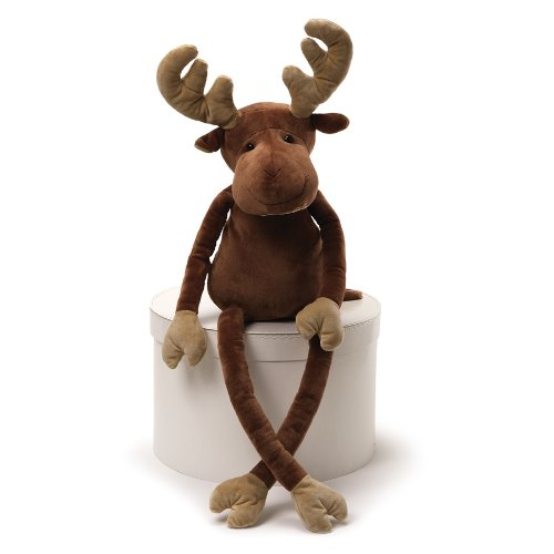 Gund 4036894 Fun Christmas Walnut Moose Plush, 35-Inch