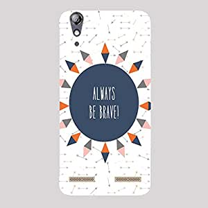 Back cover for Lenovo A6000 Always be Brave!
