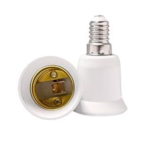 E14 à E27 Convertisseur Douille Lampe