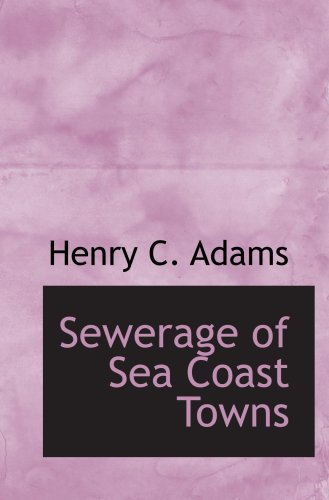 Sewerage of Sea Coast Towns