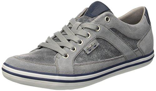 Geox U BOX D, Low-Top Sneaker uomo, Grigio (Lake/Grey), 41