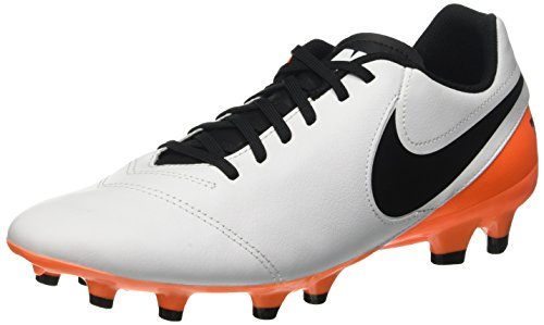 Nike Tiempo Genio II Leather FG Mens Firm-Ground Soccer Cleat (8.5 D(M) US) (Tiempo Nike Ii compare prices)