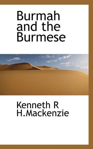 Burmah and the Burmese