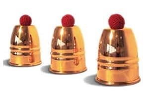 Magic Trick Copper Cups and Balls