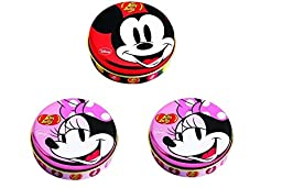 Jelly Belly Mickey & Minnie Mouse Jelly Beans (3container 1oz Each)