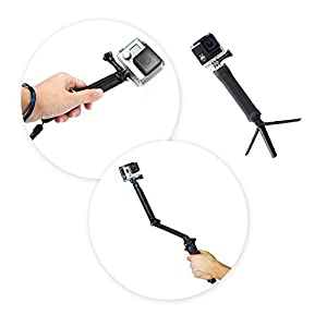3-in-1 Camera Grip, Extension Arm and Tripod Mount for GoPro Hero Camera