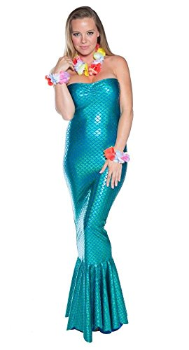 Delicate Illusions Ocean Nymph Mermaid Womens Halloween Costume