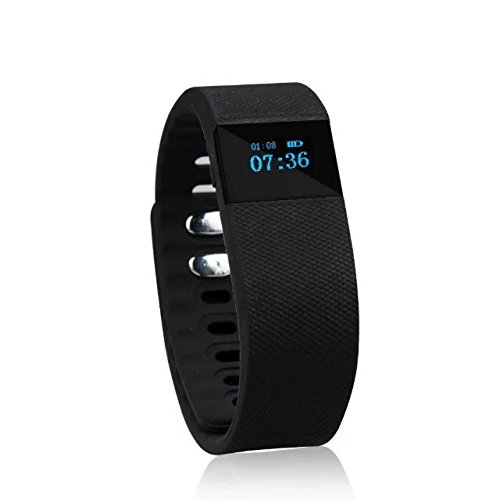 SEFREE TW6 Bluetooth 4.0 Smart Fitness sport Tracker Wristband for ios and andorid ,Black(call reminder,Waterproof,Pedometer,Wireless Activity and Sleep Monitor)