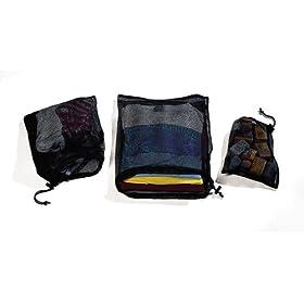 Cocoon Nylon Mesh Bag (Set of 3)