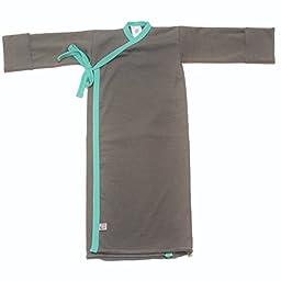 Slate Infant Kimono Wrap 5-9lbs