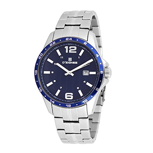 D'SIGNER BLUE DIAL ANALOG GENTS WATCH-633SM