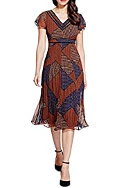 Per Una Bali Tile Print Dress [T62-6657J-S]
