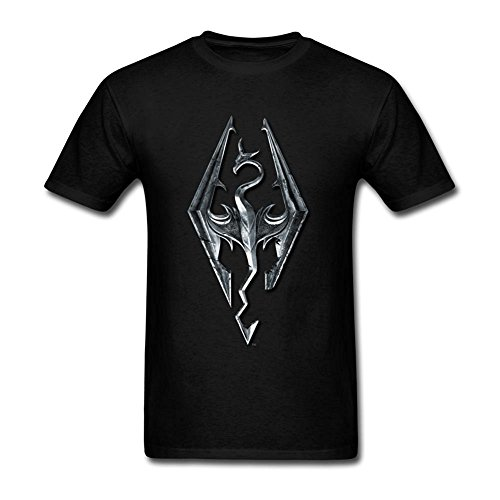 Michaner Walosde Men's The Elder Scrolls V Skyrim T-shirt X-Large
