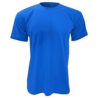T-shirt à manches courtes Exact 150 pour homme (S) (Bleu royal)