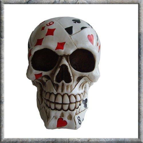 Statuetta Da Collezione Dead Mans Hand Skull Nemesis Now (15cm)