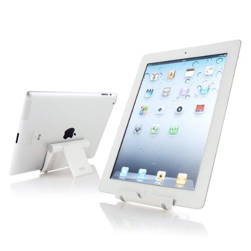 サンワサプライ iPadスタンド(ホワイト) PDA-STN7W